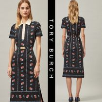 SALE【Tory Burch】FLORAL POLO DRESS★花柄上品ポロワンピ