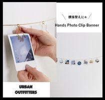 【Urban Outfitters】☆模様替えに☆ Hands Photo Clip Banner