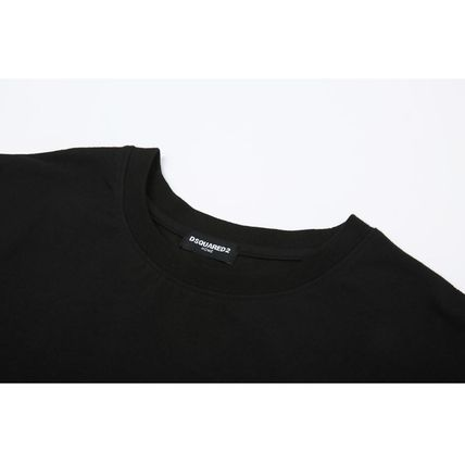 D SQUARED2 Tシャツ・カットソー 追跡★関税★送料込/D SQUARED2/WAPPEN LOGO T-SHIRT(4)