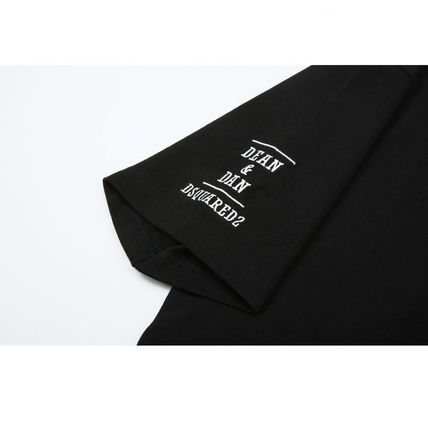 D SQUARED2 Tシャツ・カットソー 追跡★関税★送料込/D SQUARED2/WAPPEN LOGO T-SHIRT(6)