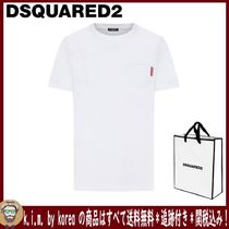 追跡★関税★送料込/D SQUARED2/POCKET BASIC T-SHIRT