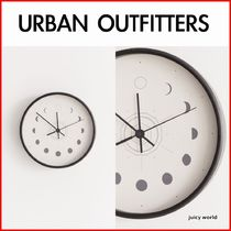 《URBAN OUTFITTERS》Deny Moon Phases Wall Clock 壁掛け時計
