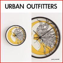 《URBAN OUTFITTERS》Deny Sun And Moon Wall Clock 壁掛け時計