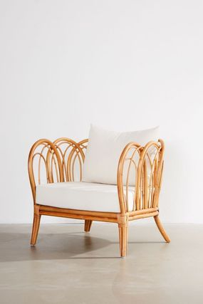 Urban Outfitters 椅子・チェア 大人気★ Urban Outfitters Melody Rattan Chair ラタンチェアー(2)