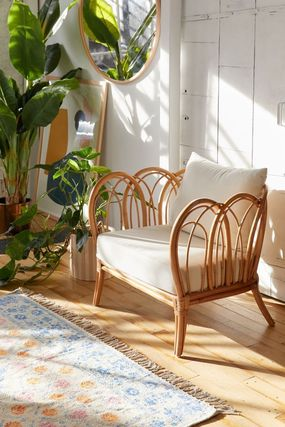 Urban Outfitters 椅子・チェア 大人気★ Urban Outfitters Melody Rattan Chair ラタンチェアー(7)