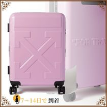 新作★国内発★Embossed hardshell suitcase