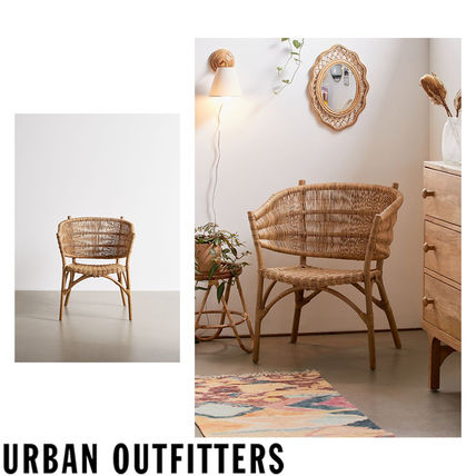 Urban Outfitters 椅子・チェア 大人気★ Urban Outfitters  Rattan Arm Chair ラタンチェアー