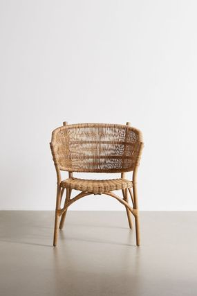 Urban Outfitters 椅子・チェア 大人気★ Urban Outfitters  Rattan Arm Chair ラタンチェアー(2)