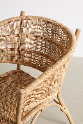 Urban Outfitters 椅子・チェア 大人気★ Urban Outfitters  Rattan Arm Chair ラタンチェアー(3)