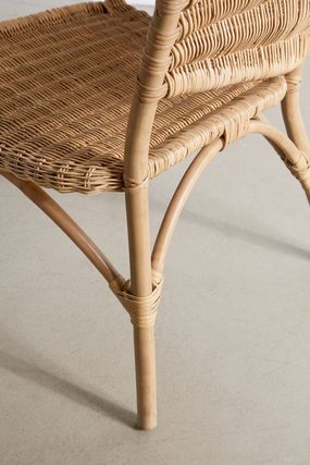Urban Outfitters 椅子・チェア 大人気★ Urban Outfitters  Rattan Arm Chair ラタンチェアー(4)