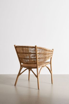 Urban Outfitters 椅子・チェア 大人気★ Urban Outfitters  Rattan Arm Chair ラタンチェアー(5)