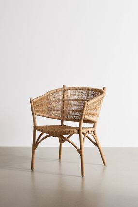 Urban Outfitters 椅子・チェア 大人気★ Urban Outfitters  Rattan Arm Chair ラタンチェアー(6)