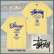 20SS NEW◆洒落感抜群◆STUSSY◆WMNS◆WORLD TOUR TEE