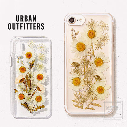 Urban Outfitters スマホケース・テックアクセサリー 【Urban Outfitters】透明クリア☆デイジーiPhoneケース〇各種