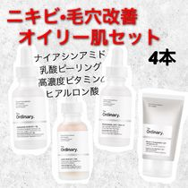The Ordinary(ジオーディナリー) 美容液・クリーム 【The Ordinary】ニキビ、毛穴改善オイリー肌4本セット!