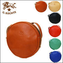 IL BISONTE【イルビゾンテ】 丸型ショルダーバッグ  A2867