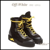*OFF WHITE オフホワイト*HIKING BOOTS 関税/送料込