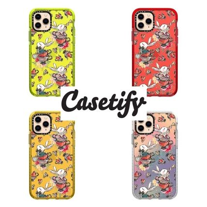 【Casetify】 ★ iPhone ★インパクト 不思議の国のうさぎ