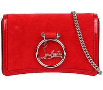 ルブタン★rubylou chain clutch bag red【関税込EMS謝恩品】