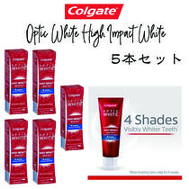 【Calgate】Optic White High Impact White 歯磨き粉5本セット♪
