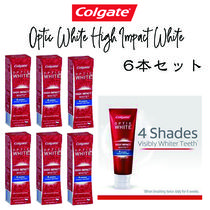 【Calgate】Optic White High Impact White 歯磨き粉6本セット♪
