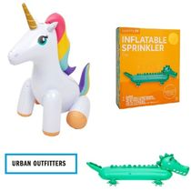 Urban Outfitters(アーバンアウトフィッターズ) バストイ・水遊びグッズ Urban Outfitters☆ユニコーン・ワニ Inflatable Sprinkler☆N