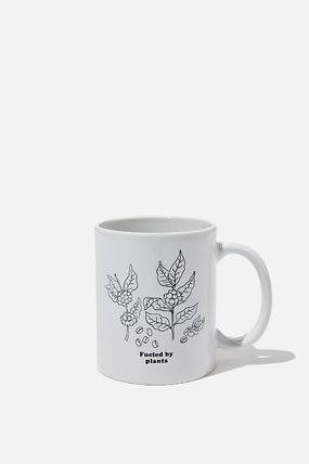 TYPO マグカップ 【Typo】 マグカップ ホワイト fueled by plants