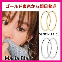 神崎恵愛用★Maria Black★SENORITA 35 HOOP EARRINGS