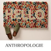 【ANTHROPOLOGIE】花柄☆玄関マット(送料・関税込み)