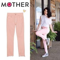 【在庫◎】Mother Looker Ankle Step Fray Pink Lemonade