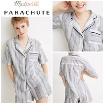 【Madewell x Parachute】新作●Striped Oversized Pajama Shirt