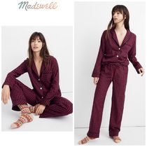 【Madewell】●上下セット●Bedtime Pajama in Gingham Check