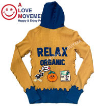 "A LOVE MOVEMENT Women's Cashmere Zip Hoodie  ""RELAX ORGANIC"""