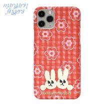 Margarin Fingers★韓国★iphoneケース check rabbit case
