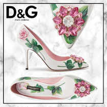 ◆Dolce&Gabbana 20SS 最新◆ローズ パンプス◆FLORAL PRINT