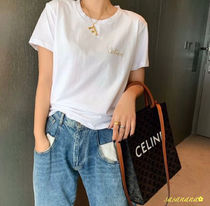 CELINE EMBROIDERED T-SHIRT セリーヌ Tシャツ 国内発送 2020SS