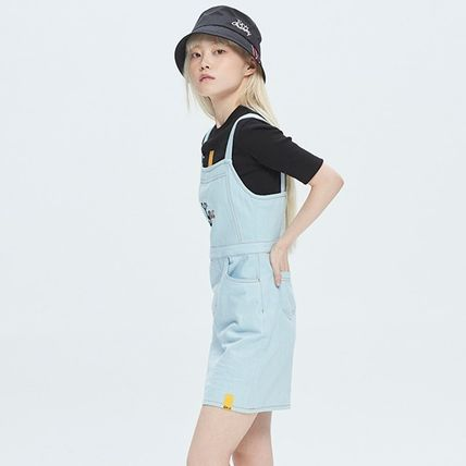 ROMANTIC CROWN ワンピース [ROMANTIC CROWN] GNAC OVERALL COTTON DRESS★韓国の人気★(13)