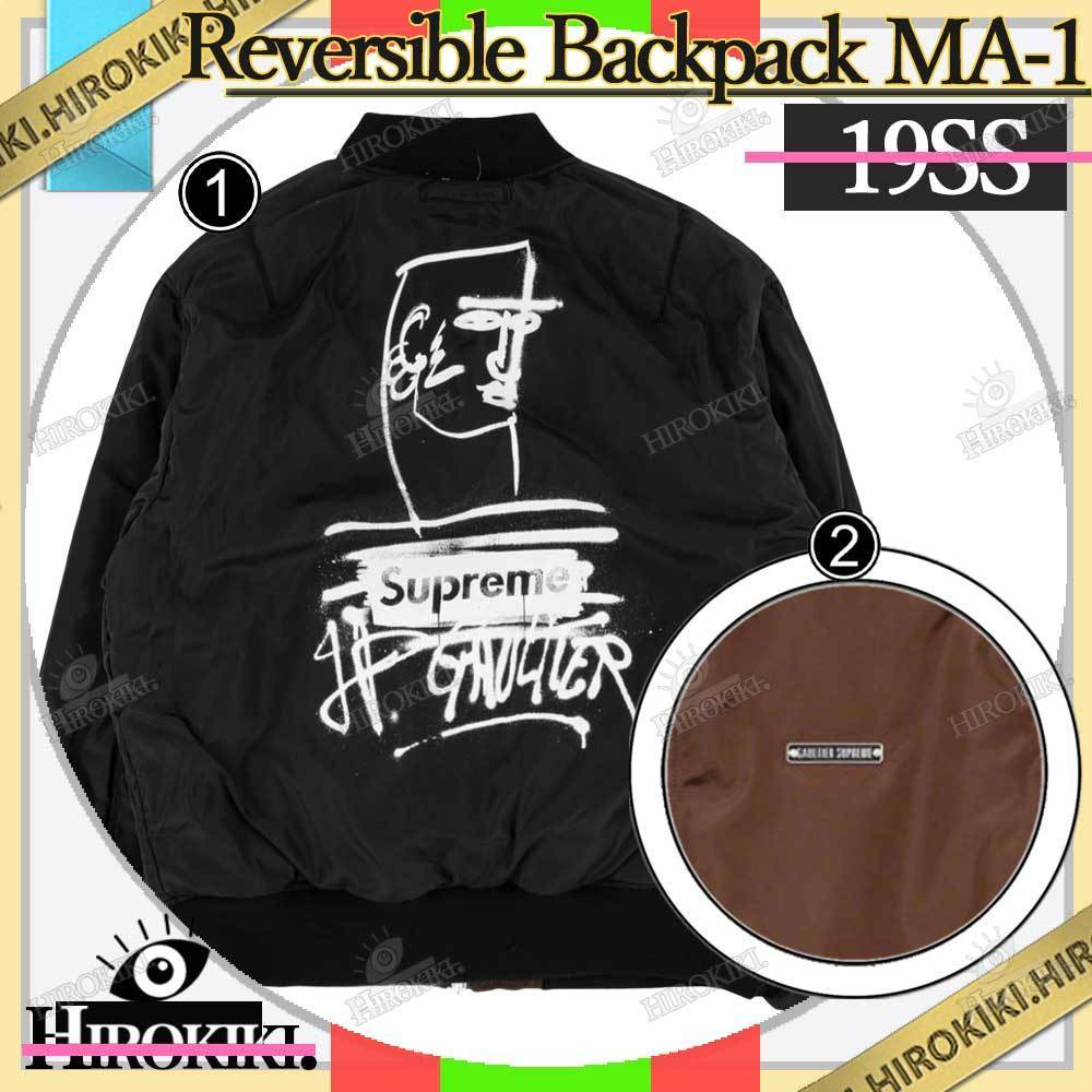 19SS /Supreme Jean Paul Gaultier Reversible Backpack MA-1 (Supreme/ジャケットその他) 53678763
