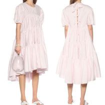【20SS】★CECILIE BAHNSEN★Esme tie-back tiered cotton dress