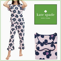 kate spade☆ short sleeved crop set パジャマ ☆税・送料込