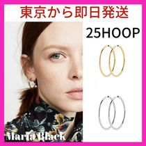 神崎恵愛用★Maria Black★SENORITA 25 HOOP EARRINGS