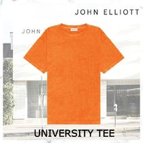完売必須! JOHN ELLIOTT UNIVERSITY TEE-DUCK CLUB ORANGE
