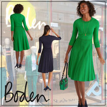 【Boden】Lorna Knitted 膝下丈 ワンピース