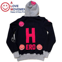 "A LOVE MOVEMENT Women's Cashmere Pullover  ""HERO"""