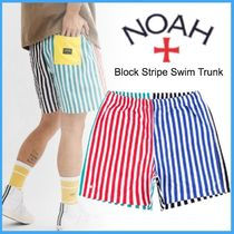 ◇20SS NEW◆完売必須◆NOAH◆Block Stripe Swim Trunk◇関送込