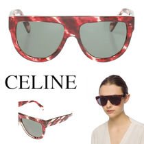 CELINE AVIATOR ACETATE SUNGLASSES
