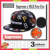☆20SS☆ SUPREME / MLB / New Era Box Logo Cap