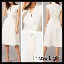 【Phase Eight】英国発! Gracelyn Fit And Flare ドレス Ivory