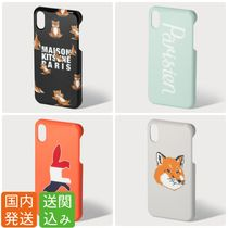 送関込★MAISON KITSUNE★ロゴiPhoneケース Yoga・Fox Head他