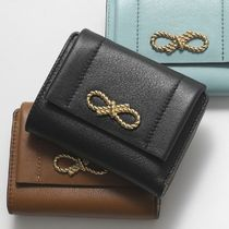 ANYA HINDMARCH ROPE BOW TRIFOLD COMPACT WALLET 二つ折り財布